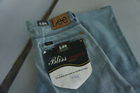LEE Bliss Low Bootcut Jeans dünn super stretch Hose 28/33 W28 L33 blau NEU ad25