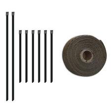 "Mishimoto  MMTW-235 Heat Wrap - 2"" x 35' Roll Stainless Locking Tie Set"