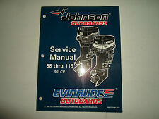 1996 Johnson Evinrude Outboards 88 thru 115 90 CV Service Repair Shop Manual 96