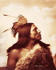 LAKOTA SIOUX WARRIOR GOOD BIRD VINTAGE PHOTO NATIVE AMERICAN INDIAN  #21303