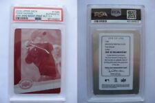 2009 UD 20th Anniversary #1586 Tiger Woods 1/1 magenta plate  PSA 1 of 1