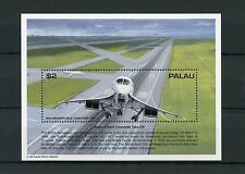 Palau 1995 MNH Research & Exp Jet Propelled Aircraft 1v S/S Concorde Stamps