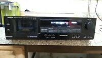 Denon DR-M12HR Stereo Cassette Deck Tape Player Hi-Fi Separate DOLBY B-C Quality