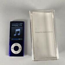 Apple A1320 iPod Nano 5th Generation 8GB Purple Video Boxed Manual Bundle