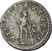 GALLIENUS  Billon Silver Ancient  Roman Coin Farnese Hercules  i45987