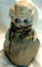 "Antique Porcelain-Bisque 5"" Doll - Betty Boop Look"