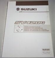 Workshop Manual Electric/Schematics Suzuki Grand Vitara SV420G Stand 5/1997