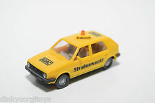 WIKING VW VOLKSWAGEN GOLF MKII MK2 ADAC STRASSENWACHT YELLOW NEAR MINT CONDITION