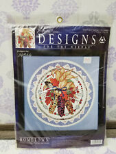 Hometown Counted Cross Stitch Kit INDIAN SUMMER #5608 Signature NEW Sealed