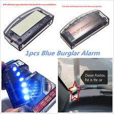 Solar Charger 6LED Car Burglar Alarm Warning Blue Light Strobe Anti-theft Lamp