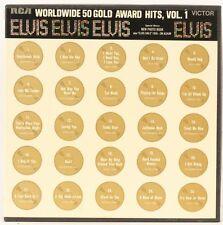Worldwide 50 Gold Award Hits Vol.1 (Box Set)  Elvis Presley Vinyl Record
