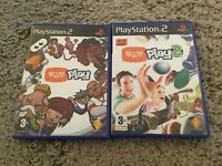 EyeToy Play Bundle 1 & 2 for PS2 PlayStation 2 Eye Toy