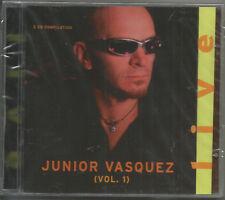 2 CDS - JUNIOR VASQUEZ - LIVE - CHER; K.D. LANG; VERNES, CYNDI LAUPER, JOI CARDW