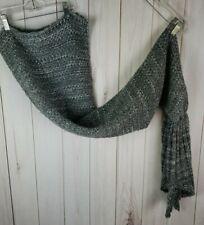 Knit Mermaid Tail Blanket Crochet Grey Quilt Rug Lapghan