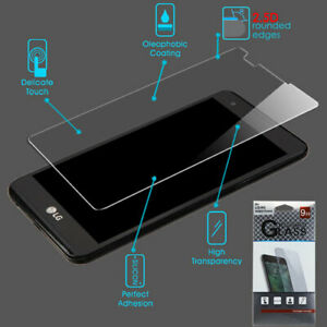 For LG X Power/LG K6 Tempered Glass Screen Protector Film Guard Premium