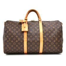 Louis Vuitton Monogram Leather Keepall Travel bag