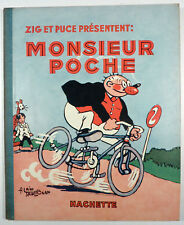 Monsieur Poche A. Saint-Ogan Hachette EO 1936 TBE