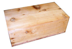 Pet Coffin Casket for Dogs or Cats 18 x 10 x 6 All Cedar U-Build-It Assembly Kit