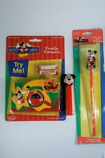 MIXED LOT Disney Mickey Mouse Pez Dispenser Candy Camera Pencil Topper pre-owned