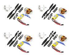 4PCS 2212 1000KV Outrunner Motor + 4 PCS 30A Brushless ESC +4PCS 1045 propeller