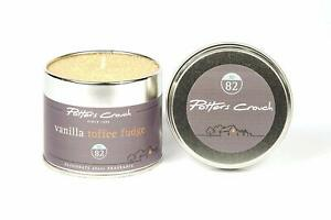 Potters Crouch - Candle Tin - Vanilla Toffee Fudge
