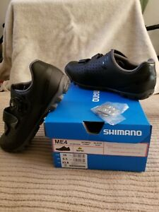 NEW Shimano ME4 Women Cycling Bike Shoes Athletic Black Size 6.5 US