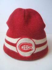 Montreal Canadiens Winter Hat Red NHL Hockey Toque Beanie Stocking Cap