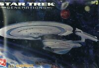 AMT ERTL Star Trek GENERATIONS USS ENTERPRISE B 1/1000 Scale Model Kit NIB M102