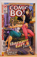 Comic Box #25 Danger Girl in Paris exclusive J Scott Campbell Limited Cover RARE