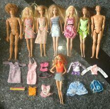 Barbie (n. 6 + 2 Ken+ vestitini)