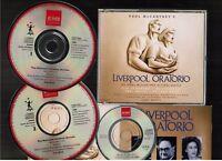 "PAUL McCARTNEY Liverpool Oratorio JAPAN 2CD w/3"" SINGLE+2 BOOKLETS TOCE-7424~5"