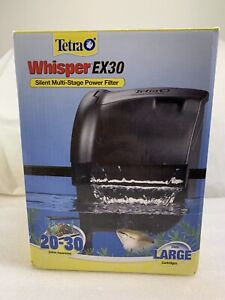 Tetra Whisper EX30 Silent Multi-Stage Power Filter for 20-30 Gal Fish Aquariums