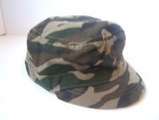 Camo Army Hat Hook Loop Camouflage Cap