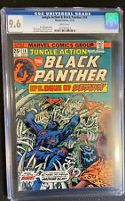 Jungle Action & Black Panther #18 CGC 9.6 White Pages Hot Book! Jack Kirby!