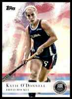 2012 TOPPS OLYMPICS SILVER KATIE O'DONNELL FIELD HOCKEY #23 PARALLEL