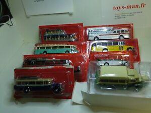 1/43 IXO BUS CAR AUTOCAR LOT