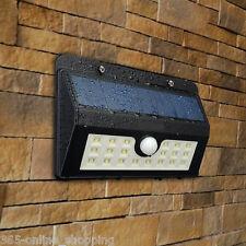 20 LED SOLAR PIR MOTION SENSOR SECURITY WALL LIGHT OUTDOOR PATIO GARDEN LIGHT