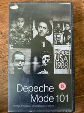 Depeche Mode 101 VHS 1988 PA Pennebaker Synth Pop Rock Music Documentary