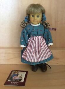 """EUC American Girl Pleasant Company """"MINI"""" 6"""" Kirsten Doll CIB"""