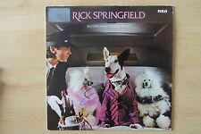 "Rick Springfield AUTOGRAFO SIGNED LP-COVER ""success hasn 't spoiled me yet"" vinile"