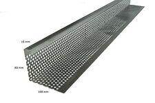 Jardinion Kiesfangleiste 80 x 100 mm AL 80, Stärke 1,5 mm, Länge 200 cm