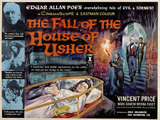 """Fall of the House of Usher, Movie Poster Replica 11x14"""" Photo Print"""