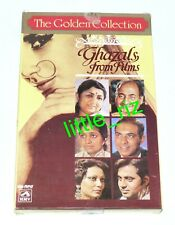 Ghazals From Films - The Golden Collection - 4 Bollywood Audio Cassettes (not CD