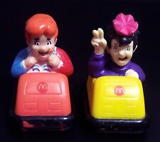 McDonald's 1987 Happy Meal Toys The New Archies Mini Bumper Cars Lot of 2