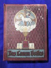 Altes Buch  Das Lamm Gottes um 1913  Prachteinband.07