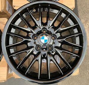 "Genuine BMW MV1 18"" Style 72 8.5J Rear Alloy Wheel in Gloss Black x1 36112229155"