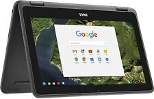 "Dell 3189 Convertible Chromebook 11.6"" HD IPS Touchscreen, 4GB Ram 32GB SSD"