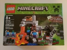 LEGO 2014 Minecraft The Cave 21113 Playset Toy Gift Retired * NEW & SEALED *