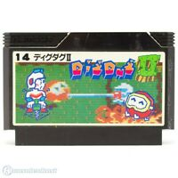 NES / Famicom Spiel - Dig Dug II JAP Modul