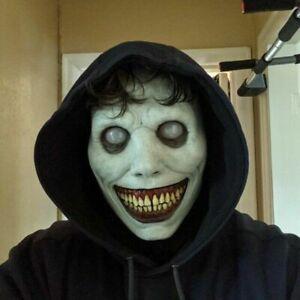 Halloween Horror Clown Schmidt Eating Grin Freaky Sideshow Face Demon Mask